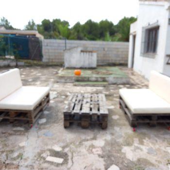 Sofás + mesa de palets